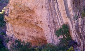 The Mad Cow Wall and Hueco Cave.