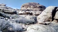 Exploratory hike.