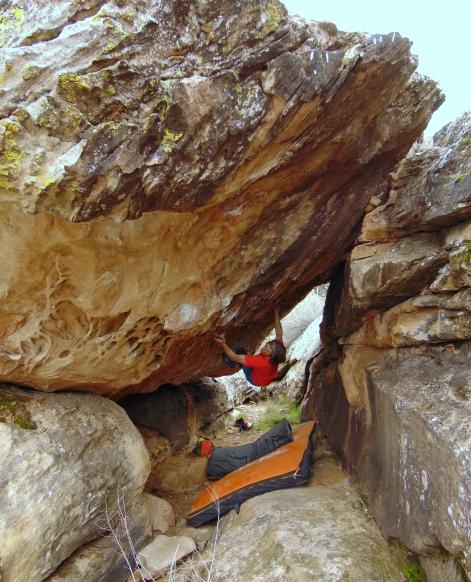 Such a cool boulder!